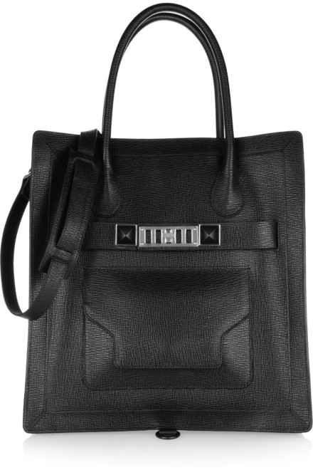 Proenza Schouler - Modelo: The PS11 Large textured-leather tote