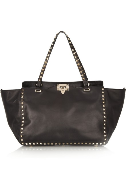 Valentino - Modelo: The Rockstud leather tote